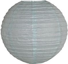 20 Inch Ice Blue Even Ribbed Paper Lantern by Hometown Evolution, Inc.. $4.49. Our high quality paper lanterns are available in random sizes to appeal to your party space. Sturdy wire ribbing creates a perfect lantern shape and assembles effortlessly as the metal expander locks into place. Compatible with our White Standard 12 Foot Power Cord which is sold separately. Shipping Cost is a Flat Rate of just $6 per order. FREE Shipping on all orders over $75.