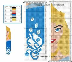 If you think I'm not going to celebrate that this is BLUE you're not paying attention Beaded Bookmarks, Bookmarks Kids, Cross Stitch Bookmarks, Cross Stitching, Cross Stitch Embroidery, Embroidery Patterns, Disney Cross Stitch Patterns, Cross Stitch Designs, Just Cross Stitch