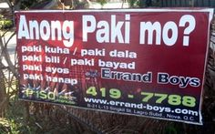 Business Marketing. Funny English Signs, Funny Pinoy, Funny Filipino Pictures, Tagalog jokes, Pinoy Humor pinoy jokes #pinoy #pinay #Philippines #funny #pinoyjoke