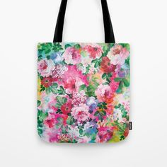 Check out society6curated.com for more! @society6 #floral #flowers #pattern #tote #totebag #bags #fashion #style #men #women #buy #shop #shopping #sale #gift #idea #cute #nice #unique #fun #gift #idea #cool #beauty #beautiful #pretty #pink #tropical #green #cream #blue