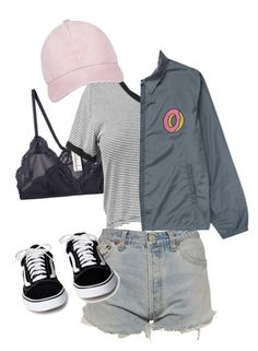 """Untitled #155"" by darkartbeauty ❤ liked on Polyvore featuring Vanessa Bruno, Levi's, ODD FUTURE and Vianel"