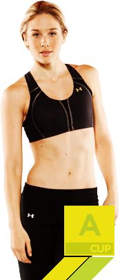 Introducing the UA Armour Bra™ A Cup. It's the only sports bra made just for you. #UnderArmour