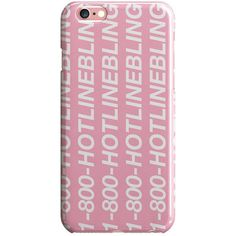 Hotline Bling Case ❤ liked on Polyvore featuring accessories, tech accessories, case, soft iphone case and iphone cover case