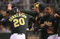 Boy do I miss these two! Josh Donaldson & Yoenis Cespedes!  If I could turn back the hands of time! ⚾️