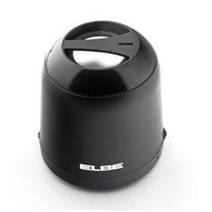 ELBE ALT-58-BT ALTAVOZ BLUETOOTH MINI NEGRO   - Bluetooth (V2.1).  - Potencia: 3W. - Tiempo de reproducción: 2 horas.  - Batería interna recargable (Li-ion; 300 mA). - Potencia USB: DC 5V. - Respuesta de frecuencia: 90Hz-20KHz. - Distancia de Transmisión: Hasta 10 metros. - Aux-in (toma audio 3.5 mm). - Accesorios: audio-in cable, cable USB para carga. - (Diámetro x alto): 6.2 x 7.2 cm. - Peso: 142 gr.