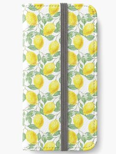 Citrons pattern, citrus fruits seamless, lemons • Millions of unique designs by independent artists. Find your thing. Redbubble iPhone Wallets - #redbubble #phone #iphone #wallets #mobile #cases #tech #gadgets #art Also available as T-Shirts & Hoodies, Men & Women Apparel, Stickers, iPhone Cases, Samsung Galaxy Cases, Posters etc.