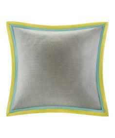 Gramercy paisley cotton throw pillow products for Euro shams ikea