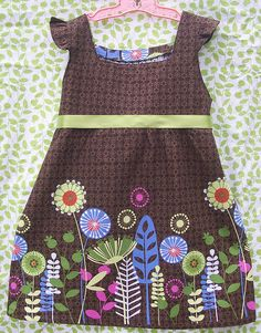 Easter Dress Front by Little*A, via Flickr