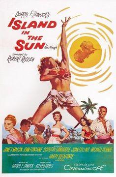 Island (Blue) In The Sun Movie Poster Masterprint (11 x 17)