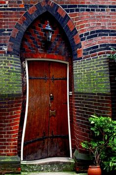 Beautiful Places in the world - bluepueblo:   Twisted Door, London, England  photo...