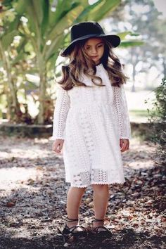 cefb8974041 White Long sleeve Crochet dress with long sleeve and cotton lining. Little  Pompom trim on the edges. This Bohemian dress is perfect for fall with  boots