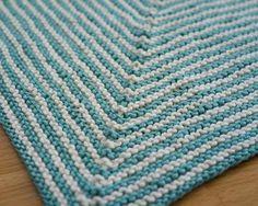 Ridge Washcloth - Knitting Patterns and Crochet Patterns from KnitPicks.com