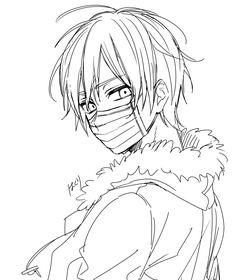 Anime Drawings Sketches, Cool Art Drawings, Chibi Sketch, Anime Sketch, Boy Drawing, Drawing Base, Onii San, Anime Character Drawing, Anime Poses Reference