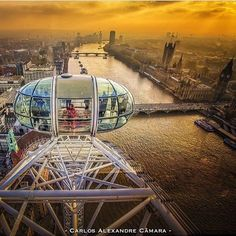 A view from the London eye. Beautiful! 🔹 Photo credits: @carlosalexandrecamara 🔹 Tag #worldtravelbook to be featured. 🔹 Follow my personal account @sharqawii #travel #YOLO #photooftheday #picoftheday #nature #tagsforlikes #instagram #bestoftheday #life #love #photo #gopro #summer #followforfollow #likeforlike