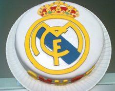 Tarta escudo real madrid #fondant