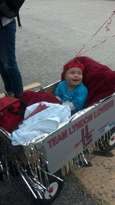 Supporting Team Lyndon Lovers in 2013's Buddy Walk for the Down Syndrome Association of Houston.