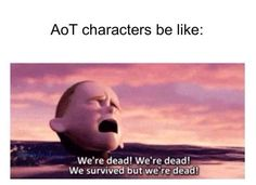 This is really the fandom, characters, and just the whole show....