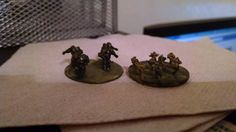 Print of our fire support suits and 6mm infantry