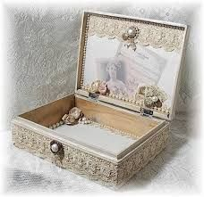 Image detail for -Shabby Vintage French Chic Altered Art Keepsake Box Shabby Chic Boxes, Shabby Chic Crafts, Vintage Crafts, Shabby Vintage, Shabby Chic Decor, French Vintage, Vintage Style, Cigar Box Projects, Cigar Box Crafts