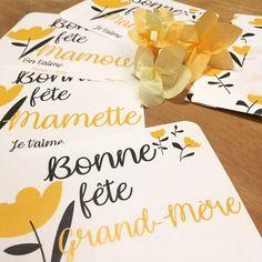 Carte Goodies Fête des Grands-mères - Bonne fête Mamie - à télécharger sur le blog www.mymyreloo.com