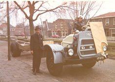 DAF HF-87-90 zo werden de auto's vanaf Eindhoven naar de carosserie bouwers gereden