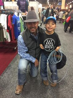 Chad Prather & His Little Ropin' Buddy