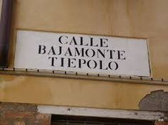 Travel With MWT The Wolf: World Famous Streets Calle Bajamomte Tiepolo Venez...