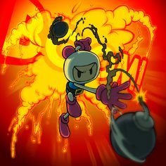 Bomberman brings the BOOM by AIBryce on DeviantArt