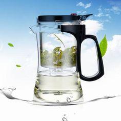 500ml Kamjove Glass Gongfu Tea Pot Cup Teapot Maker Teapot With Infuser