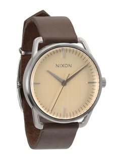 Nixion The Meller Cream Interior Brown Leather! WOW!