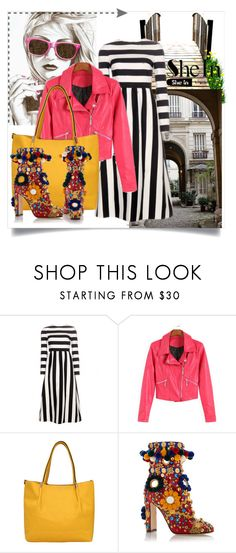 """""""SheIn III/6"""" by zenabezimena ❤ liked on Polyvore featuring Dolce&Gabbana, Sheinside and topset"""
