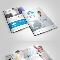 Design us a Winning That Explains Our Cloud Services Brochure! by Adwindesign