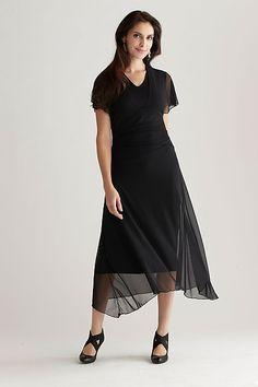 Kate Mesh Dress by Cynthia Ashby.  Nylon / lycra blend. $258
