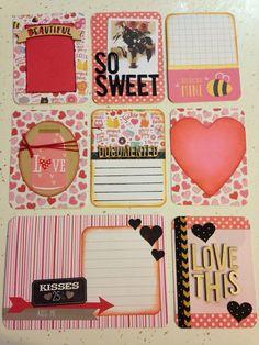 Juego de tarjetas de vida proyecto hecho a mano: amor!