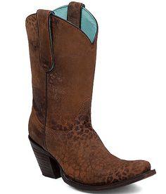 Corral Cheetah Cowboy Boot at Buckle.com