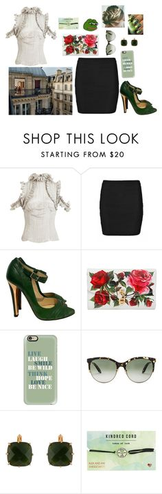 """""""I wanna watch them somewhere undisturbed and quiet"""" by theater-potter-dance-warriors ❤ liked on Polyvore featuring Rodarte, Jimmy Choo, Dolce&Gabbana, Casetify, Victoria Beckham, Les Néréides, Alex and Ani, PèPè and RGB Cosmetics"""