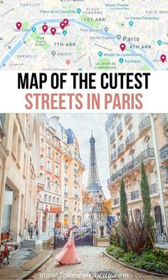 10 Of The Most Charming Streets In Paris + Map To Find Them Places to travel 2019 France travel tips Paris Photography, Travel Photography, Photography Tips, Sainte Chapelle Paris, Paris Map, Paris Paris, Montmartre Paris, Streets Of Paris, Paris France Travel