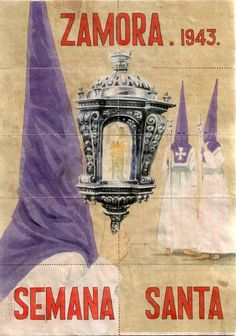 Semana santa. Zamora. 1943. Set of ten postcards, España.