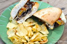 Philly Cheese Steak Sandwich Texas Style!