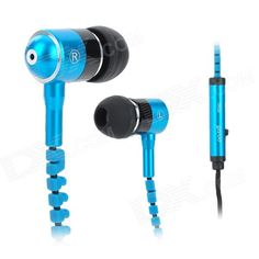 Brand: Mobaks; Model: HXT-2045; Quantity: 1 Piece; Color: Blue + black; Material: ABS + nylon; Compatible Models: Iphone 5 / 4S Samsung S4 i9500 / N7100 and more; Headphone Jack: 3.5mm jack; Microphone: Yes; Earphones Type: In-Ear Earphones; Remote: Yes; Pick Up or Hang Up: Yes; Volume Control: No; Sensitivity: 116dB; Impedance: 32 ohm; Frequency Response Range: 18Hz~20000Hz; Cable Length: 120cm; Packing List: 1 x Headphone 4 x Ear bud; http://j.mp/1pE35mE