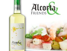 Un plato ideal para acompañar una copa de #Alcorta & Friends blanco, ¡ensalada de marisco! Una receta que podéis preparar como más os guste: gamas, pulpo, cangrejo, olivas, tomate; y que lucirá de lujo en vuestra mesa este verano