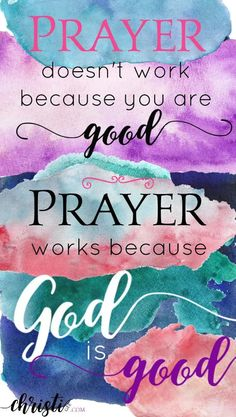 Prayer works because God is good. Click through for Scripture-based hope if you've fallen and can't get up. Faith quotes for Christians, encouragement from Scripture, Bible verses for those feeling discouraged, prayer for strength, amazing grace via Prayer Quotes, Bible Verses Quotes, New Quotes, Spiritual Quotes, Faith Quotes, Inspirational Quotes, Scriptures, Wisdom Quotes, Rumi Quotes
