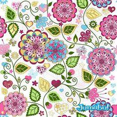Diseños de Fondos Florales en Vectores | Jumabu! Design Tools - Vectorizados - Iconos - Vectores - Texturas