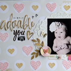 My Creative Scrapbook MAY MAIN KIT Crate Paper Confetti Layout by Jodi Wilton- Scrapbook.com