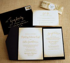 White And Gold Wedding Invitations Check More Image At  Http://bybrilliant.com