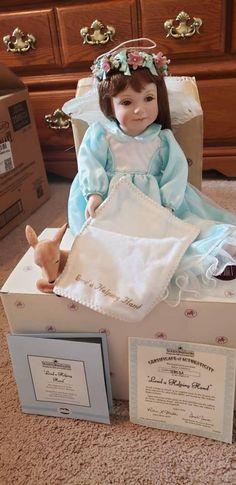 Porcelain Dolls For Sale, Ashton Drake, Helping Hands, My Etsy Shop, Flower Girl Dresses, Artist, Check, Artists, Bridesmaid Gowns