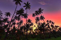 Sunset at Manzanilla, Trinidad & Tobago