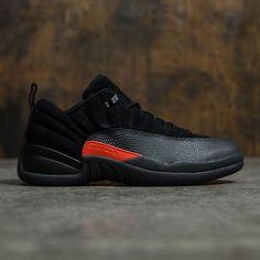 Jordan Men Air Jordan 12 Retro Low (black   max orange-anthracite) Air 9305d7212