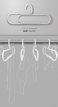 5 Cool and Innovative Clothes Hanger Designs
