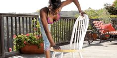 8 Exercises You Can Do With a Chair  -Cosmopolitan.com